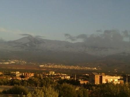 Le Mont Lalla Khadidja, un beau matin de Février...