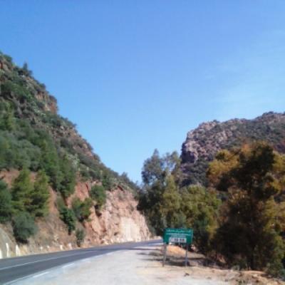Sur la route de Boumerdès...