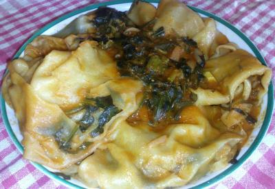 Lasagnes kabyles végétariennes