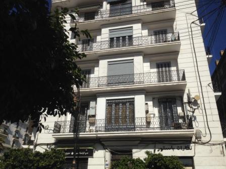 Façade d'immeuble Avenue Pasteur