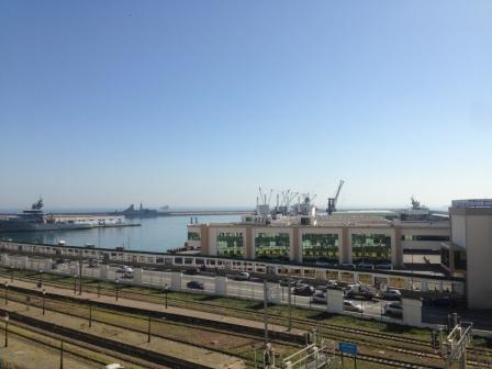 Vue du port d'Alger