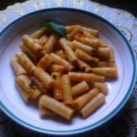 Pâtes au basilic