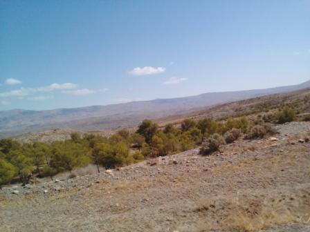Soleil en Kabylie