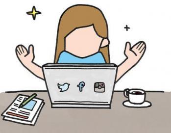 Blog et réseaux sociaux